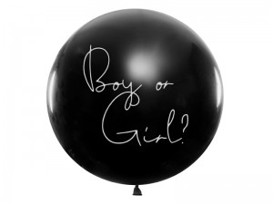 Balon Gender Reveal - Chłopiec, 1m
